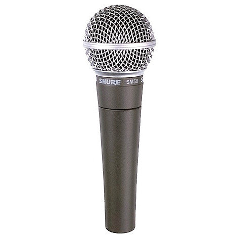 Shure SM58LC Cardioid Vocal Microphone without Cable