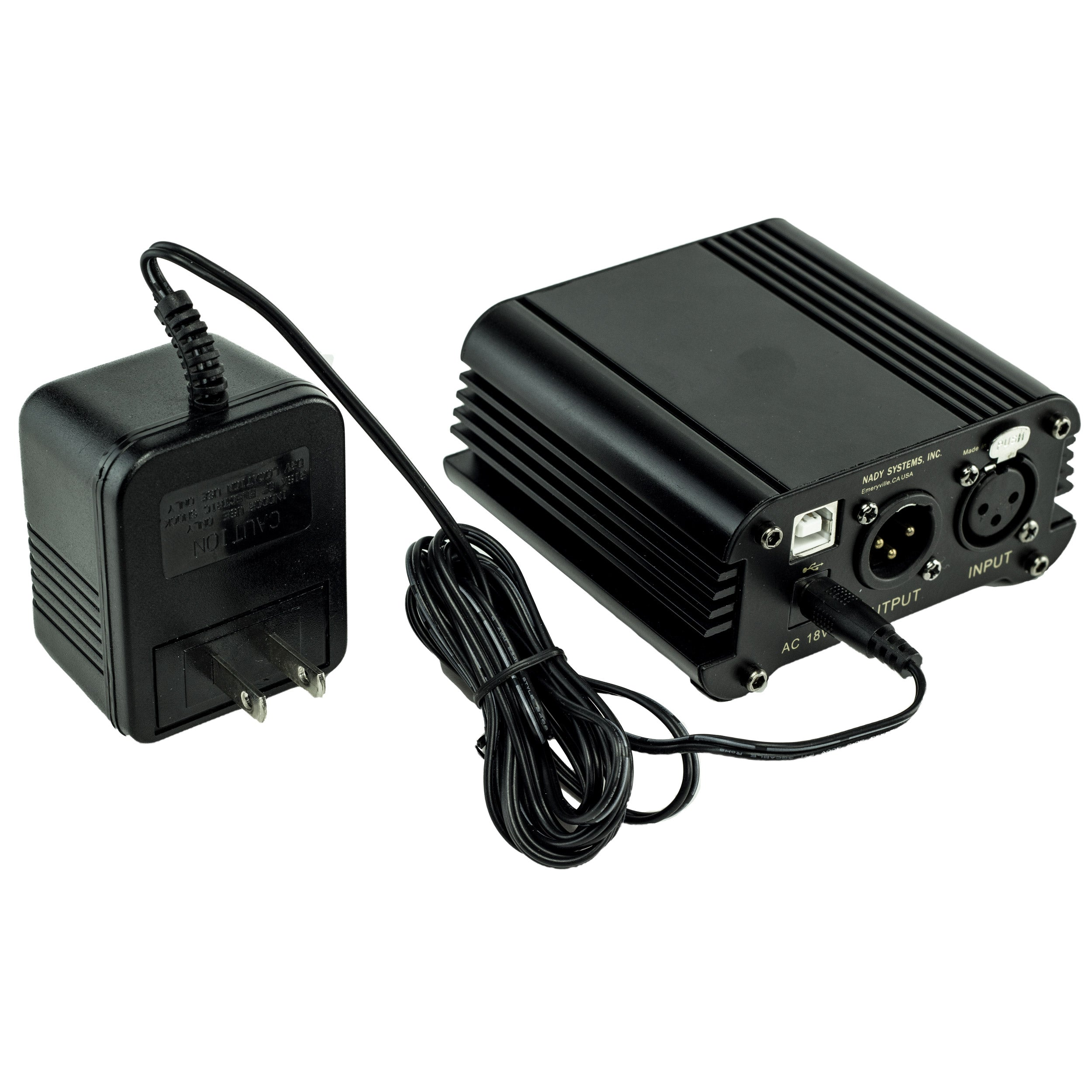 Nady SMPS-USB 2-Channel USB Phantom Power Supply for SCM Series