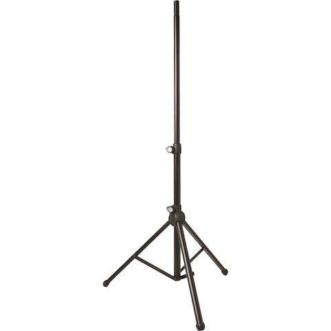 Quick Lok SP-770 Pair of Pneumatic Speaker Stands with Bag - Black