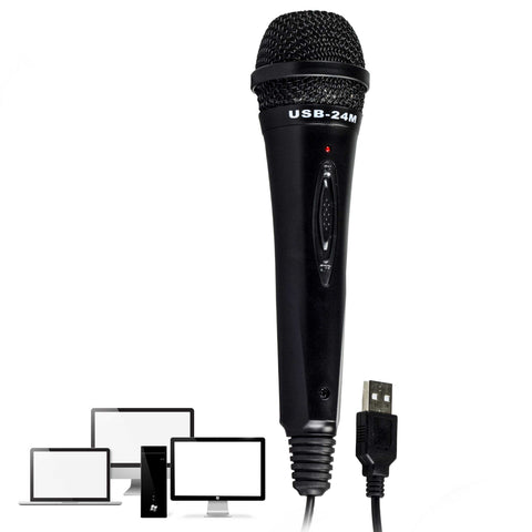 Nady USB-24M USB Dynamic Microphone with Smooth Response