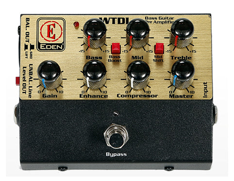 Eden USM-WTDI World Tour Direct Box Preamp Pedal