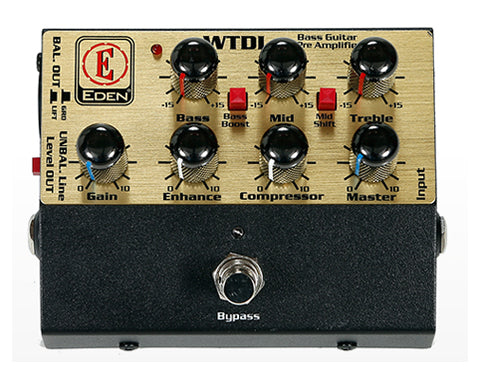 Edan USM-WTDI World Tour Direct Box Preamp Pedal