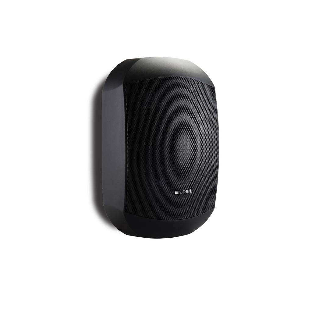 "Apart Audio MASK6C-BL 6.5"" Two-Way Loudspeaker with Clickmount System - Black"