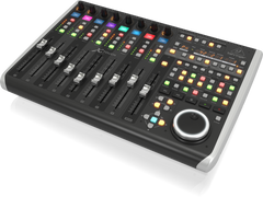 Behringer X-Touch Universal Control Surface with 9 Touch-Sensitive Motor Faders and LCD Scribble Strips and Ethernet/USB/MIDI Interface