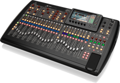 Behringer X32 40-Input/25-Bus Digital Mixing Console with 32 Programmable MIDAS Preamps 25 Motorized Faders/Channel LCD's/32-Channel Audio Interface and iPad/iPhone Remote Control