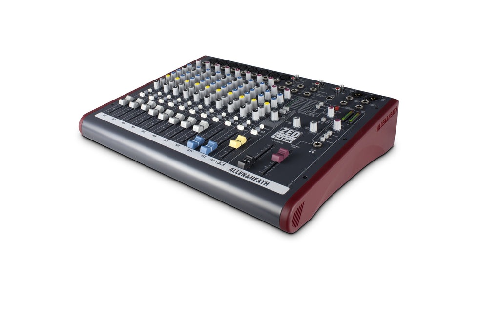 Allen & Heath AH-ZED60-14FX Live and Studio Mixer with Digital FX and USB Port