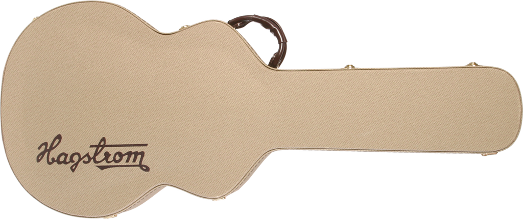 Hagstrom C-56-U Hardshell Hag-case for Jazz models HJ500/600/800 - Tweed