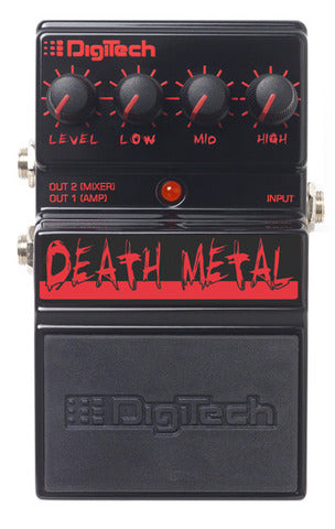 DigiTech DDM Death Metal Distortion Guitar Effects Pedal