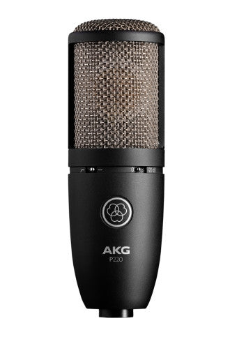 AKG P220 High Performance Large Diaphragm Vocal Condenser Microphone - Audioride