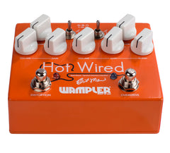 Wampler Brent Mason Hot Wired V2 Overdrive Guitar Effects Pedal