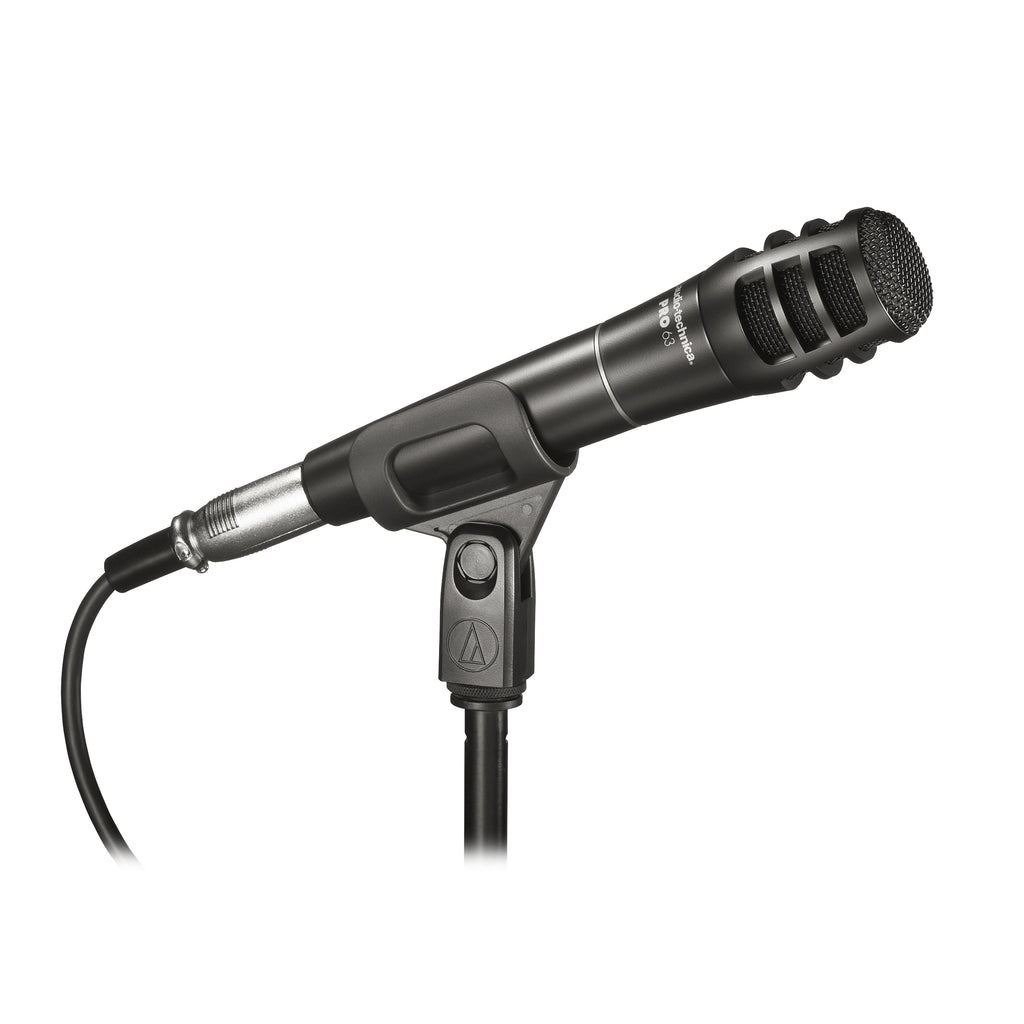 Audio-Technica PRO63 Cardioid Dynamic Handheld Instrument Microphone
