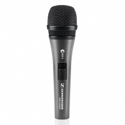 Sennheiser E835S Dynamic Microphone with On/Off Switch
