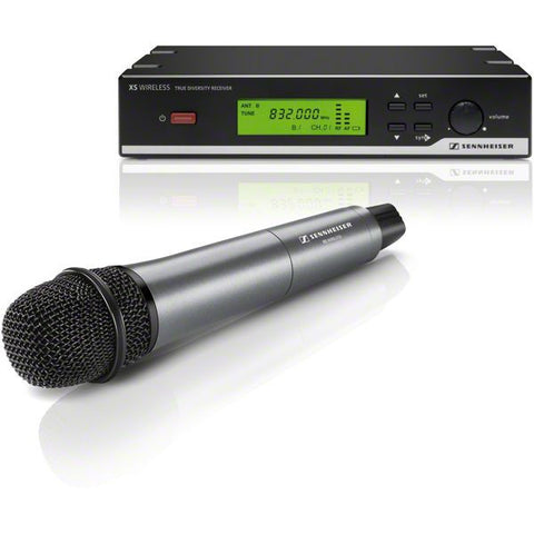 Sennheiser XSW 35-A Dynamic Vocal Set Handheld Wireless Microphone System, Cardioid