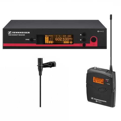 Sennheiser EW 112 G3-G Wireless Bodypack Microphone System with ME 2 Lavalier Mic - A (516-558 MHz)