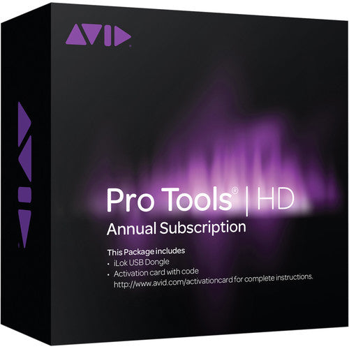 Avid Pro Tools | HD Software Annual Subscription
