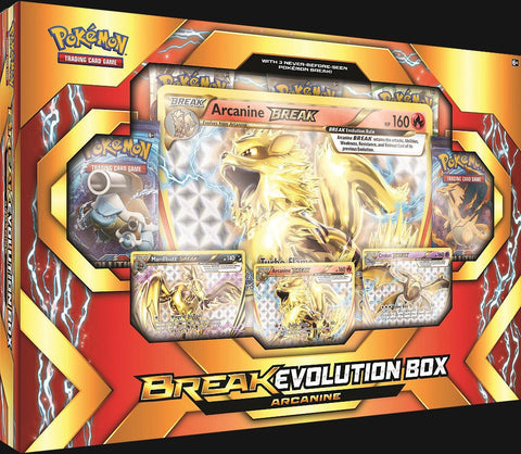 Pokémon TCG: Arcanine BREAK Evolution Box