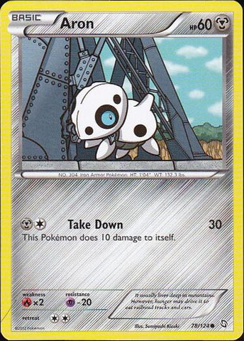 Aron - 78/124 Common, Pokemon Card Single, Gotta Collect Em All, product_collection], Pokemon