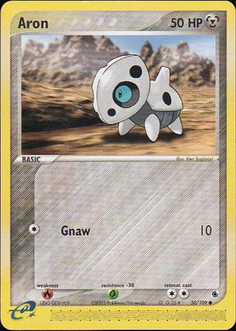 Aron - 50/109 Common, Pokemon Card Single, Gotta Collect Em All, product_collection], Pokemon