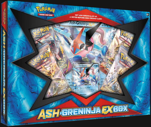 Pokémon TCG: Ash-Greninja EX Collection Box