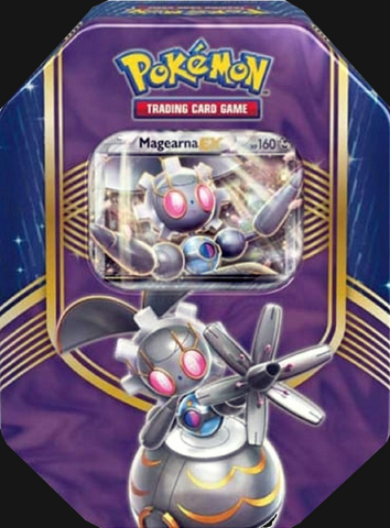 Pokémon TCG: Battle Heart Magearna EX Tin
