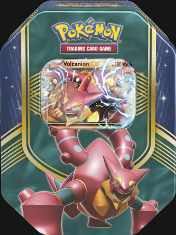 Pokémon TCG: Battle Heart Volcanion EX Tin