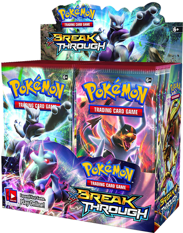 Pokémon TCG: XY BREAKthrough Booster Box