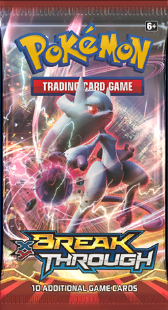 Pokémon TCG: XY BREAKthrough Booster Pack