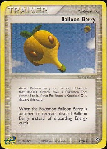 Balloon Berry - 82/97 Uncommon, Pokemon Card Single, Gotta Collect Em All, product_collection], Pokemon