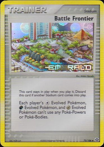 Battle Frontier - 75/106 Uncommon Reverse Holo, Pokemon Card Single, Gotta Collect Em All, product_collection], Pokemon