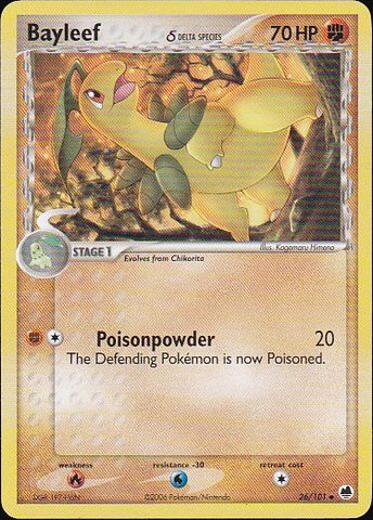 Bayleef δ - 26/101 Uncommon, Pokemon Card Single, Gotta Collect Em All, product_collection], Pokemon