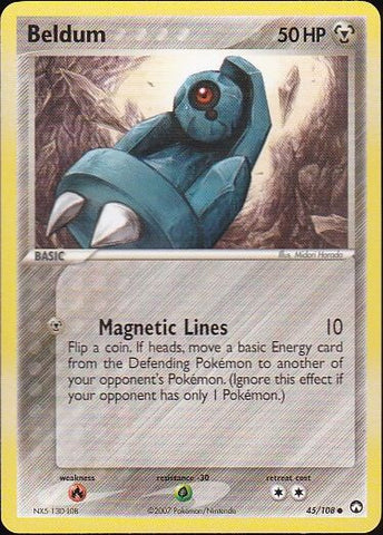 Beldum - 45/108 Common, Pokemon Card Single, Gotta Collect Em All, product_collection], Pokemon