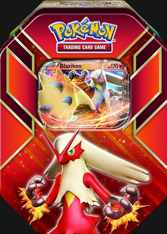 Pokémon TCG: Hoenn Power Blaziken EX Tin