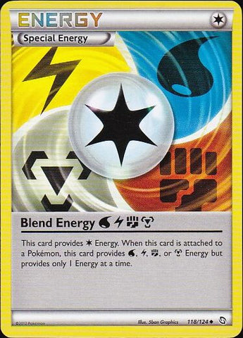 Blend Energy WLFM - 118/124 Uncommon, Pokemon Card Single, Gotta Collect Em All, product_collection],Pokemon