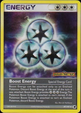 Boost Energy - 87/101 Uncommon Reverse HoloPokemon Card SingleGotta Collect 'Em All! Pokemon