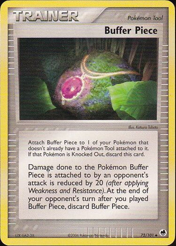 Buffer Piece - 72/101 Uncommon, Pokemon Card Single, Gotta Collect Em All, product_collection],Pokemon