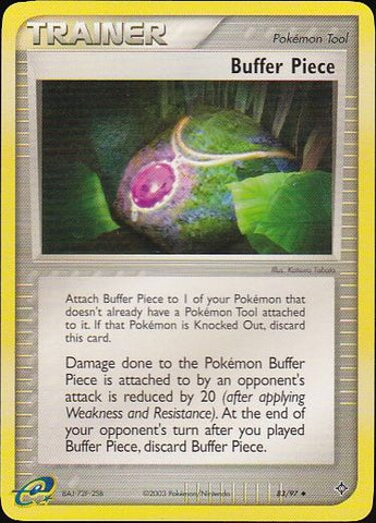 Buffer Piece - 83/97 UncommonPokemon Card SingleGotta Collect 'Em All! Pokemon