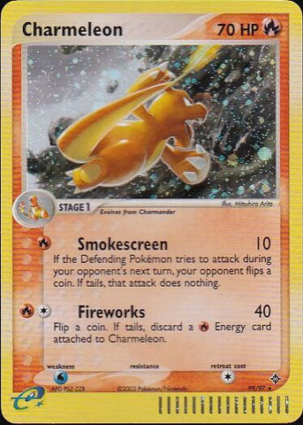 Charmeleon - 99/97 Secret RarePokemon Card SingleGotta Collect 'Em All! Pokemon