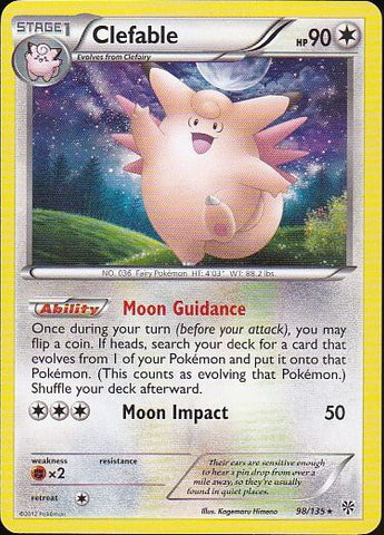 Clefable - 98/135 Rare