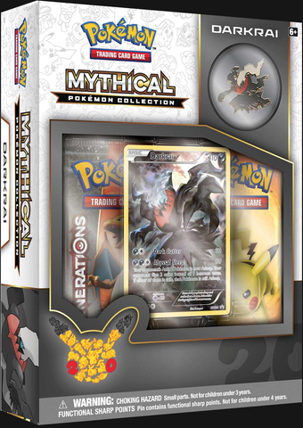 Pokémon TCG: Mythical Collection Box Darkrai