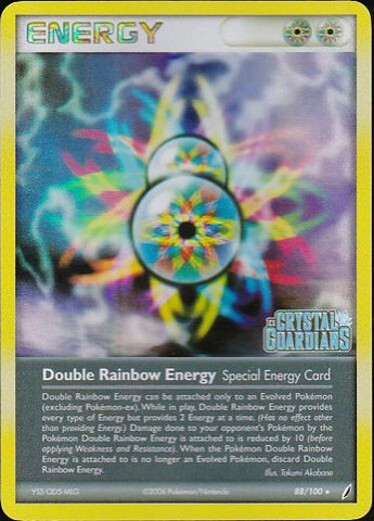 Double Rainbow Energy - 88/100 Rare Reverse HoloPokemon Card SingleGotta Collect 'Em All! Pokemon