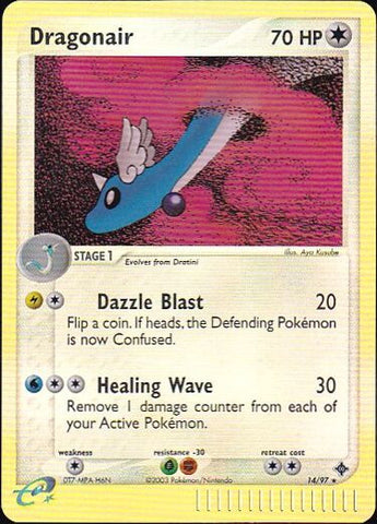 Dragonair - 14/97 Rare Reverse HoloPokemon Card SingleGotta Collect 'Em All! Pokemon
