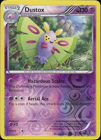 Dustox - 47/124 Rare Reverse HoloPokemon Card SingleGotta Collect 'Em All! Pokemon