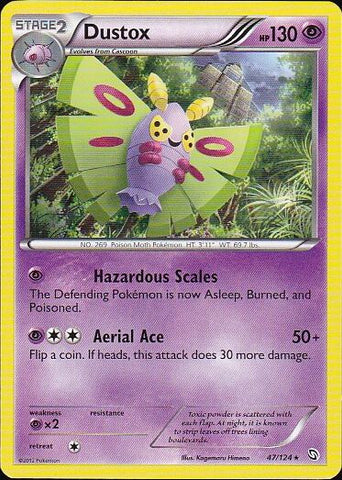 Dustox - 47/124 RarePokemon Card SingleGotta Collect 'Em All! Pokemon