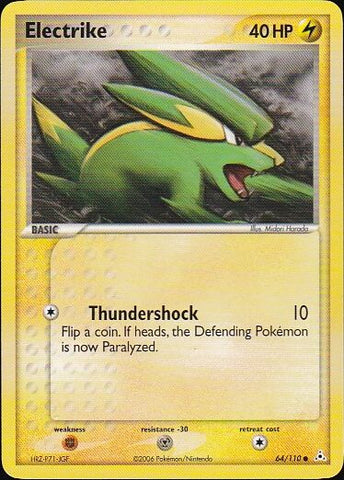 Electrike - 64/110 CommonPokemon Card SingleGotta Collect 'Em All! Pokemon