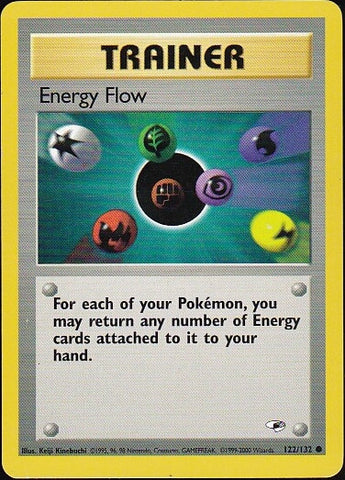 Energy Flow - 122/132 CommonPokemon Card SingleGotta Collect 'Em All! Pokemon