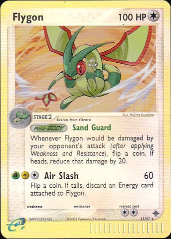 Flygon - 15/97 Rare Reverse HoloPokemon Card SingleGotta Collect 'Em All! Pokemon