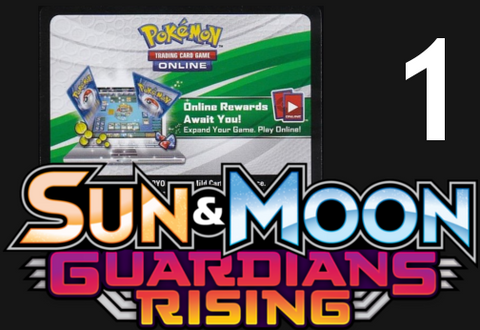 Guardians Rising Online Booster Pack Code [PTCGO]