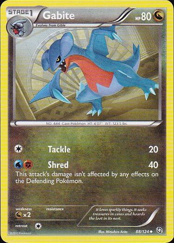 Gabite - 88/124 UncommonPokemon Card SingleGotta Collect 'Em All! Pokemon