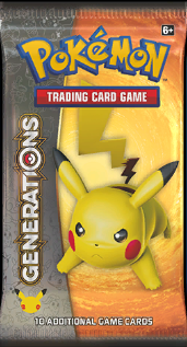Pokémon TCG: XY Generations Booster Pack