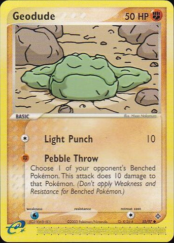 Geodude - 55/97 CommonPokemon Card SingleGotta Collect 'Em All! Pokemon